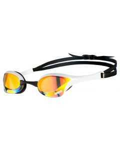 Arena Cobra Swipe Ultra Mirror Swimming Goggles Advanced Anti Fog Lense - White