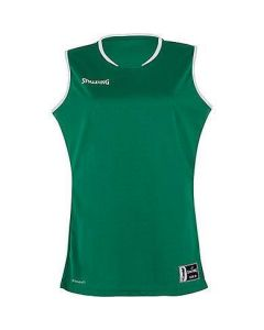 Spalding Move Womens Basketball Tank Top FIBA Confirmed Size - Lagoon/White