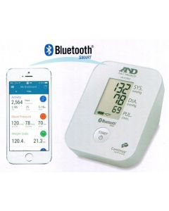 A&D Medical Basic Upper Arm Blood Pressure Monitor with Bluetooth Smart UA651BLE