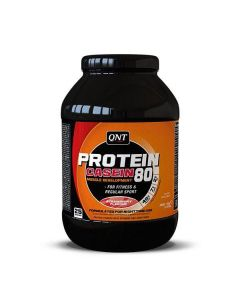 QNT Protein 80 Concentrated Calcium Caseinate Whey Muscle Powder - Strawberry
