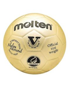 Molten MTV5SLGL Gold Presentation Ornamental Trophy Leather Volleyball