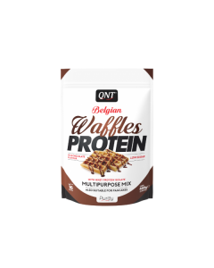 QNT Belgian Waffles High Rated Protein Protein Low Sugar & Calories - MIlk Chocolate