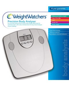 Weight Watchers Body Fat Precision Analyser Scale With 10 User Memory