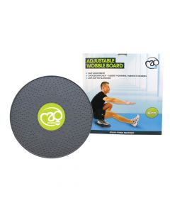 Fitness Mad Adjustable Wobble Board Stability Balance Strength Improvement Tool