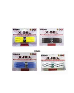 Karakal PU X-Gel Badminton Tennis Squash Racket Replacement Grips x 2
