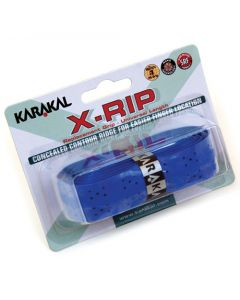 Karakal PU X-RIP Tennis Badminton Squash Breathable Cushioned Racket Grips x 2