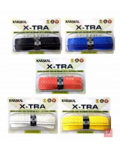Karakal PU X-TRA Tennis Badminton Squash Cushioned Racket Grip x 1