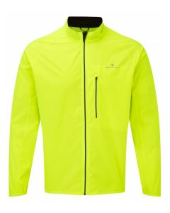 Ronhill Everyday Jacket Mens Reflective Running Apparel - Fluo Yellow